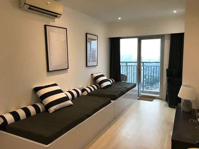 2 Connecting Unit Jakarta Residences 10-15 Guest near Grand Indonesia, Central Jakarta