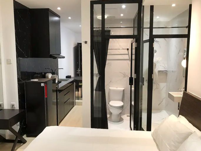 1BR Apartment at Jakarta Residence 2 to 5 Guest Near Grand Indonesia, Central Jakarta