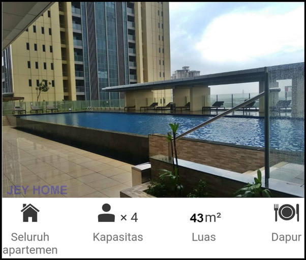 BRANZ Apartemen 1BR, Tangerang Selatan