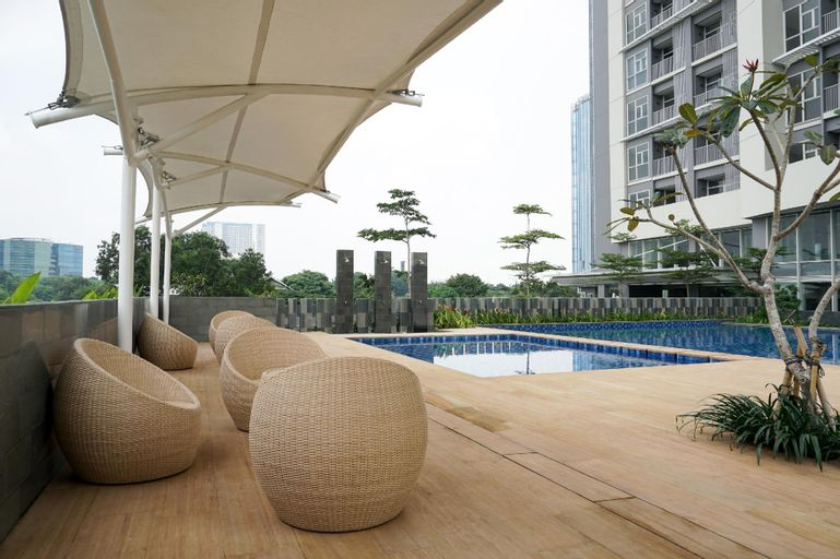Exclusive 1BR Ciputra International Apt ByTravelio, Jakarta Barat