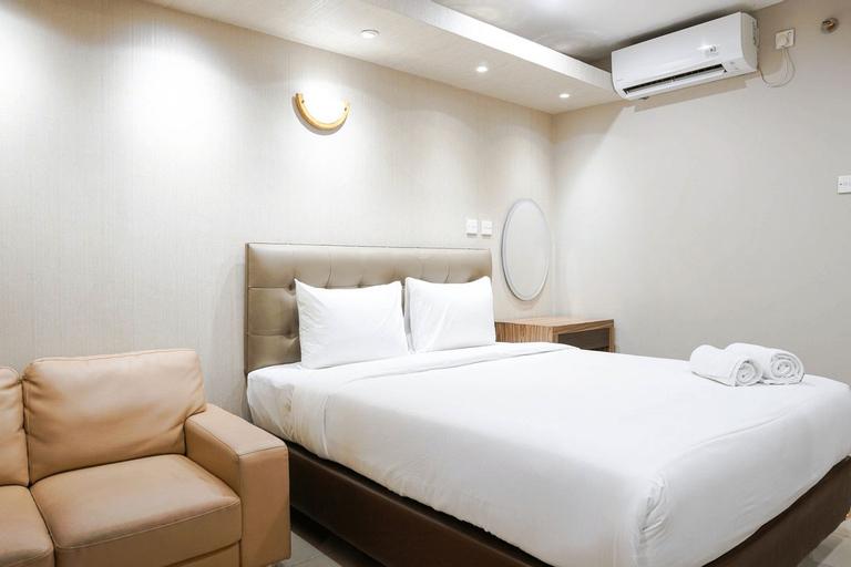 Elegant and Best View Studio Tamansari The Hive Apartment By Travelio, East Jakarta