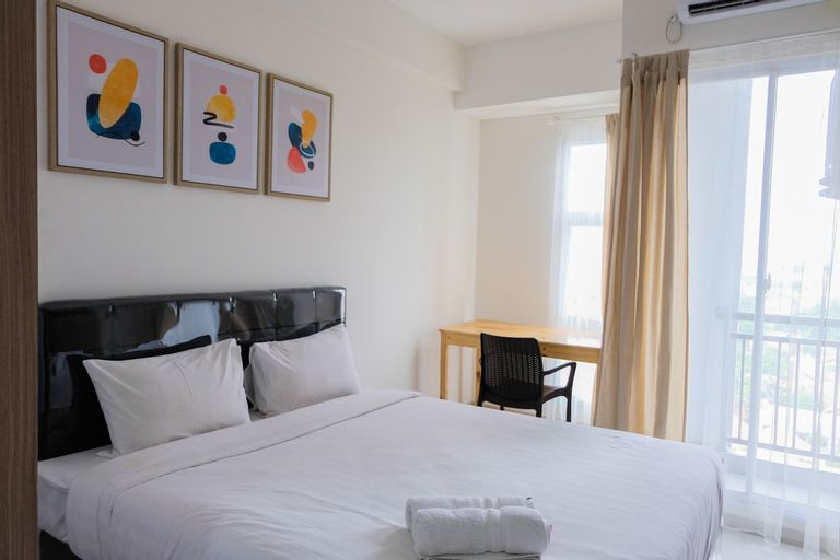 Best Price Studio Apartment at Akasa Pure Living BSD By Travelio, Tangerang Selatan