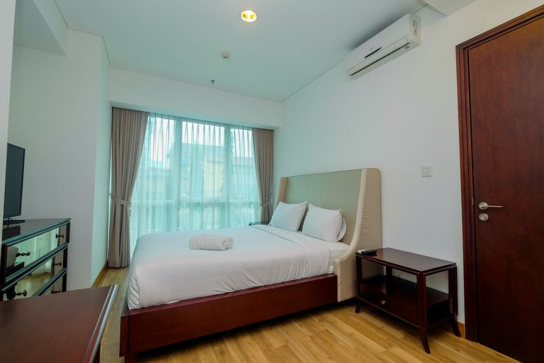 Cozy 1BR with Workspace at Setiabudi Skygarden Apartment By Travelio, South Jakarta