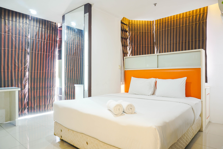 Fully Furnished and Spacious 3BR Apartment at Mangga Dua Residences By Travelio, Central Jakarta