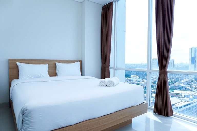 Homey and Modern 2BR Apartment at Atlanta Residence By Travelio, Depok