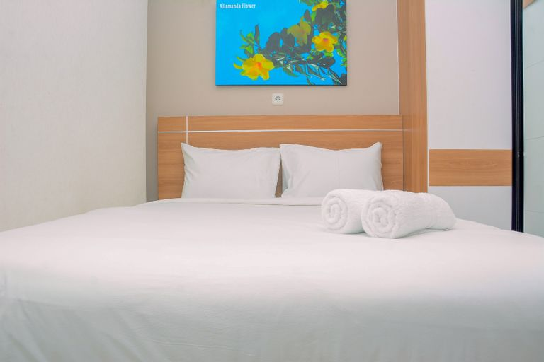 Elegant and Comfy 2BR above Mall at Bassura City Apartment By Travelio, East Jakarta