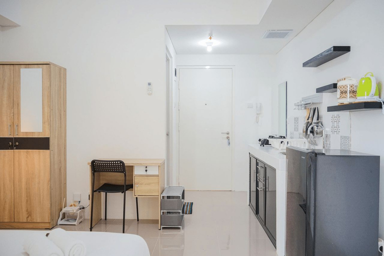 New Furnished Studio with City View @ Silktown Apartment By Travelio, Tangerang