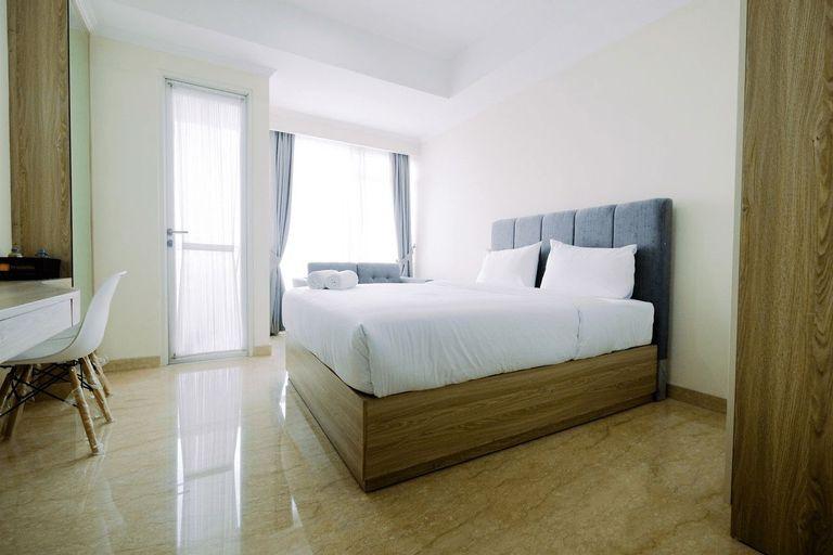 Nice Studio Menteng Park Apartment By Travelio, Central Jakarta