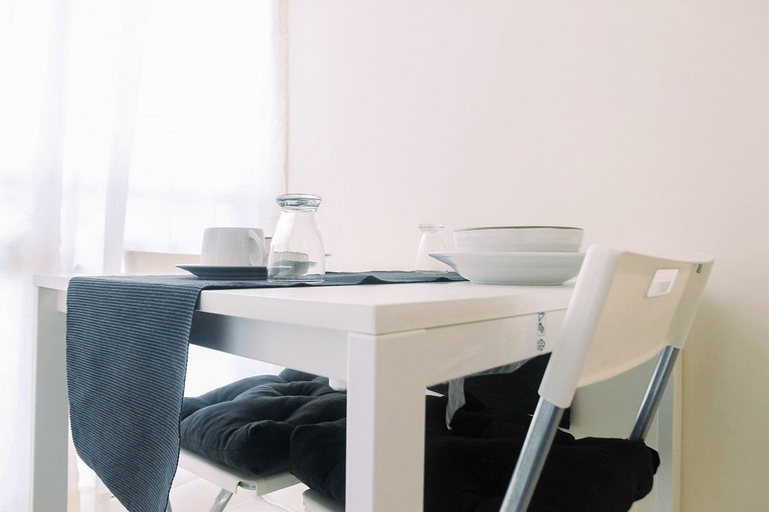 Homey and Comfy Studio at Tifolia Apartment By Travelio, East Jakarta