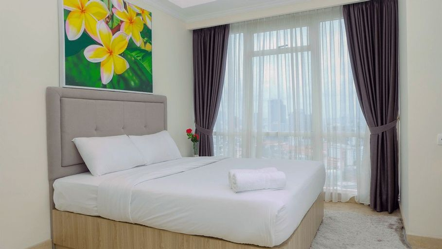 Best Choice 2BR Apartment at Menteng Park with Bathtub By Travelio, Central Jakarta