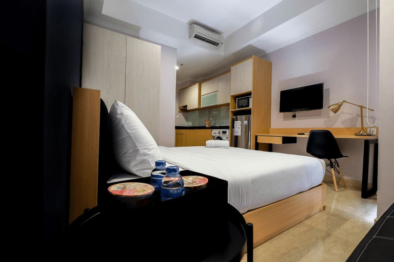 Comfortable Studio at Menteng Park Apartment By Travelio, Central Jakarta