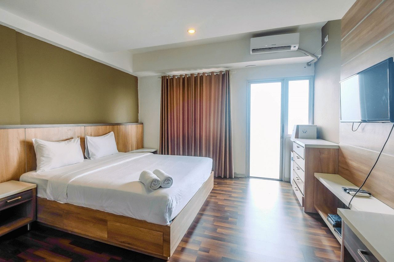 Modern and Cozy Studio Park View Apartment By Travelio, Depok