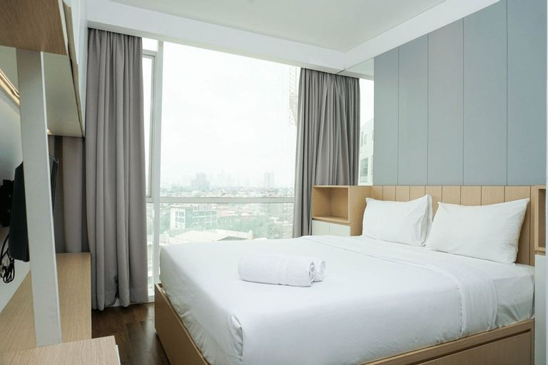 Cozy 1BR Apartment Gallery West Residence By Travelio, Jakarta Barat
