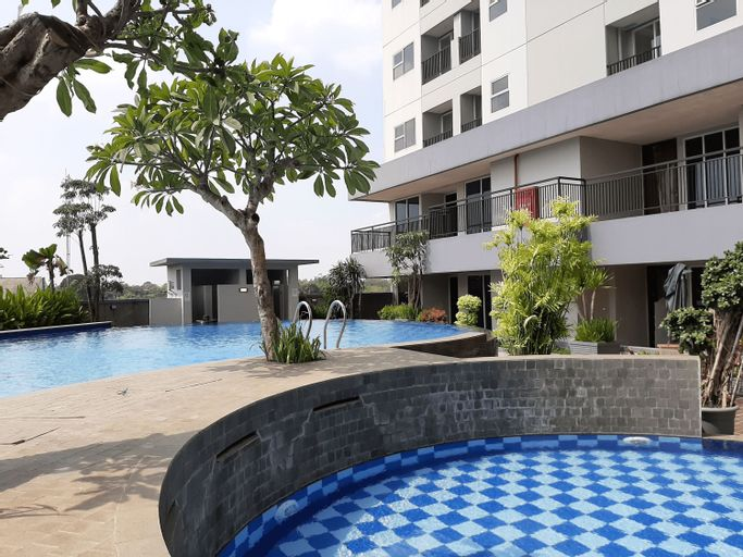 Modern and Comfy Studio Parkland Avenue Apartment By Travelio, Tangerang Selatan