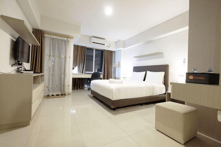 Best Price Spacious Studio Apartment @ The H Residence near MT Haryono By Travelio, Jakarta Timur