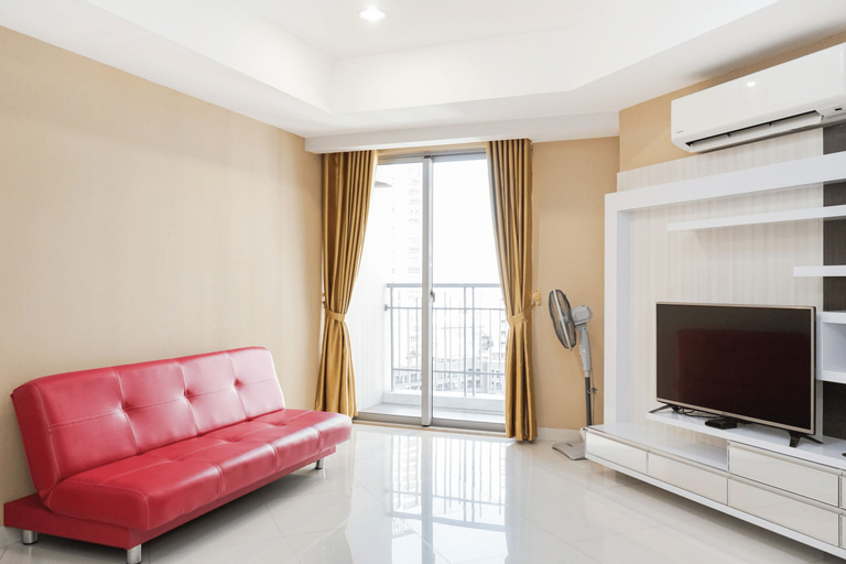 Cozy 2BR Apartment at The Mansion Kemayoran By Travelio, North Jakarta