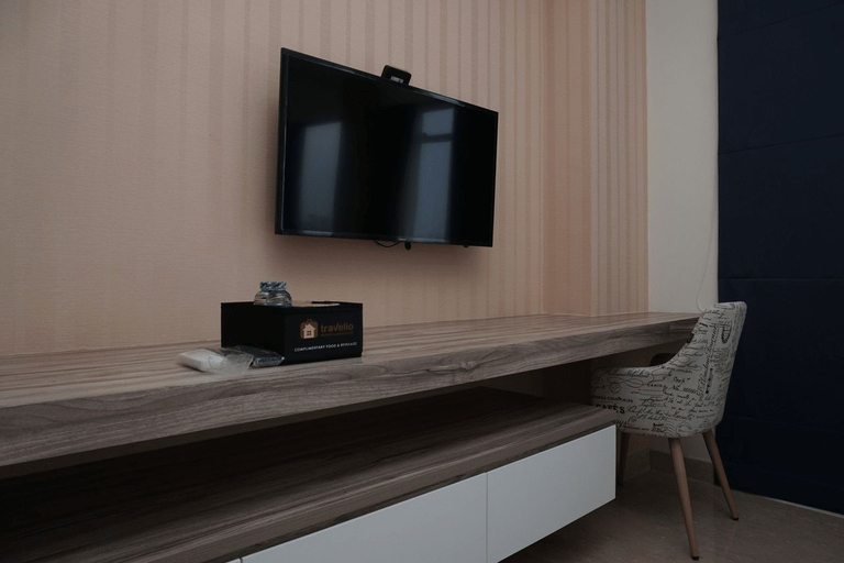 Cozy and Tranquil Studio Menteng Park Apartment By Travelio, Central Jakarta