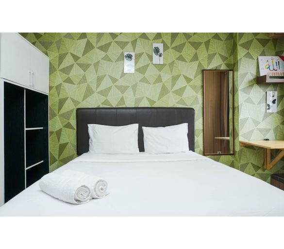 Cozy Pool View Studio Apartment at Margonda Residence 3 By Travelio, Depok