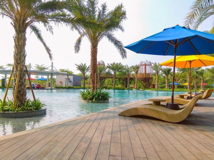 Wonderful 2BR at Gold Coast Apartment Pantai Indah Kapuk By Travelio, Jakarta Utara