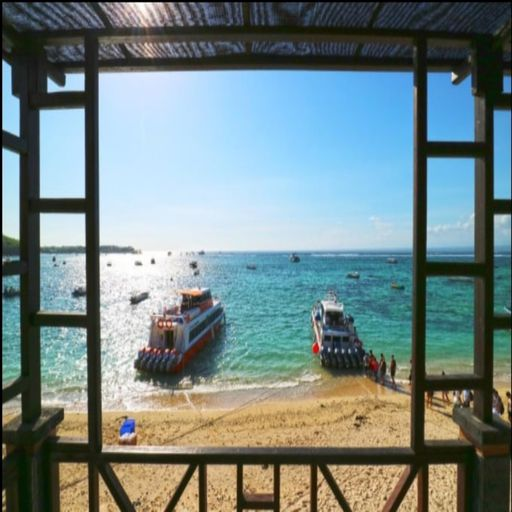 The Beach Huts Lembonngan, Klungkung