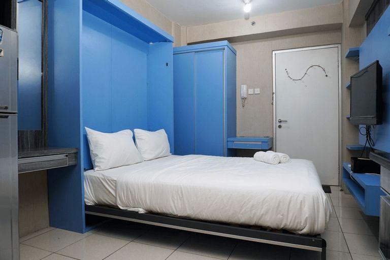 Blue Studio Apartment at Green Bay Pluit By Travelio, Jakarta Utara