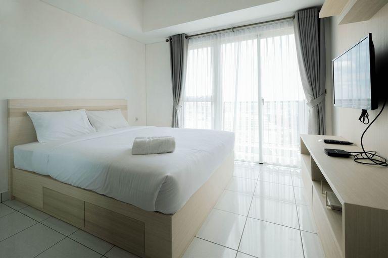 Nice & Comfy Studio Apartment Casa De Parco By Travelio, Tangerang Selatan