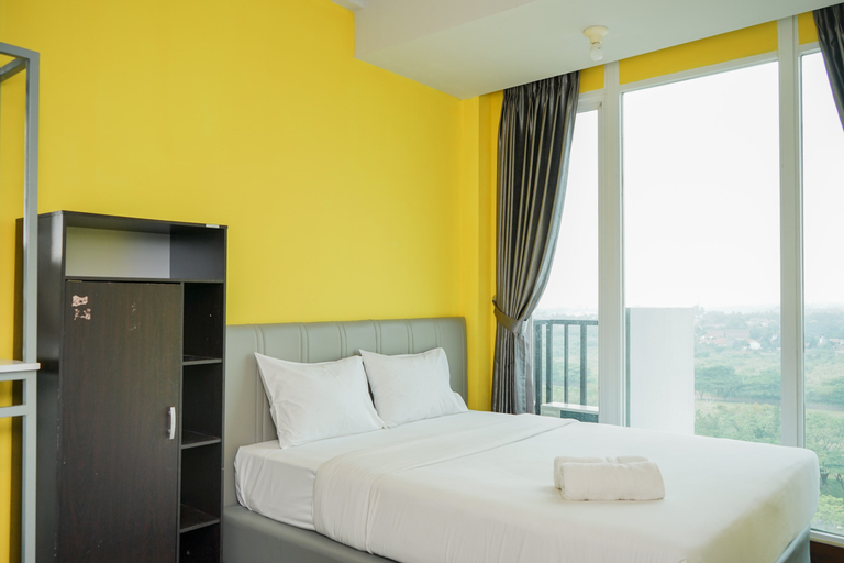 Clean and Tidy Studio Room at Tree Park Apartment By Travelio, Tangerang Selatan