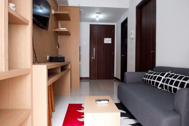 Cozy 1BR Scientia Residence Apartment near Summarecon Mall Gading Serpong By Travelio, Tangerang