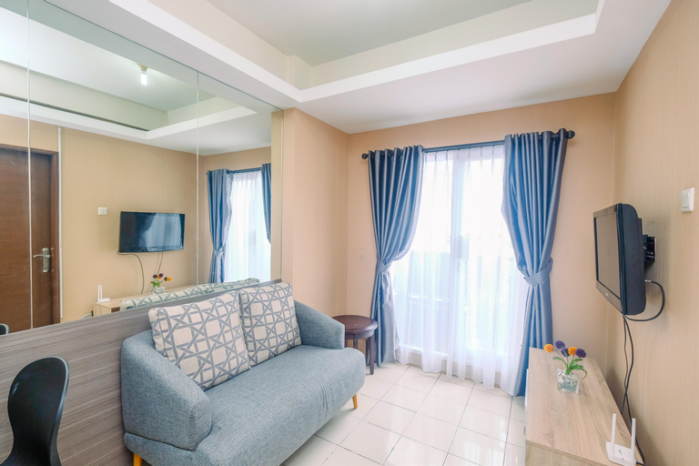 Comfy Strategic 2BR at Puri Park View Apartment By Travelio, West Jakarta