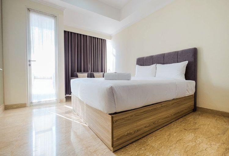 Modern Studio Menteng Park Apartment By Travelio, Central Jakarta