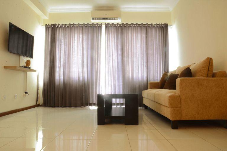 Luxury Design 3BR Grand Palace Kemayoran Apartment With Private Bathtub By Travelio, Jakarta Pusat
