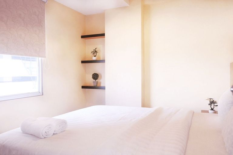 2BR Port View Green Bay Apartment Pluit By Travelio, North Jakarta