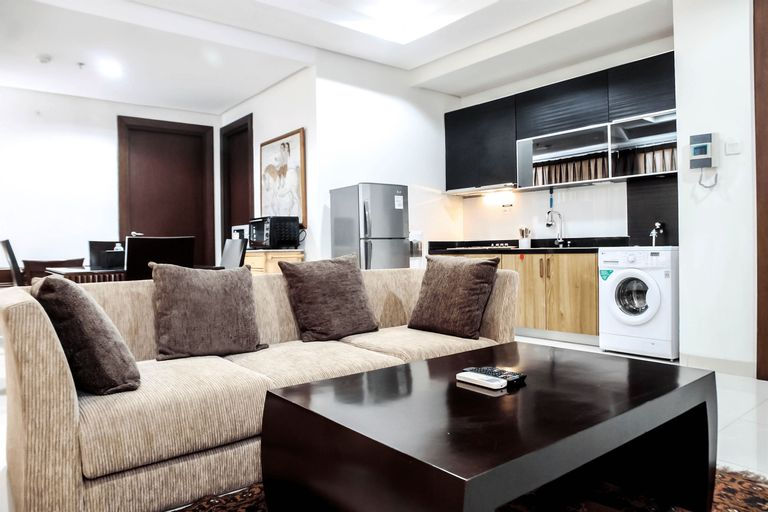 Best Location 1BR The Mansion at Kemang Apartment By Travelio, Jakarta Selatan