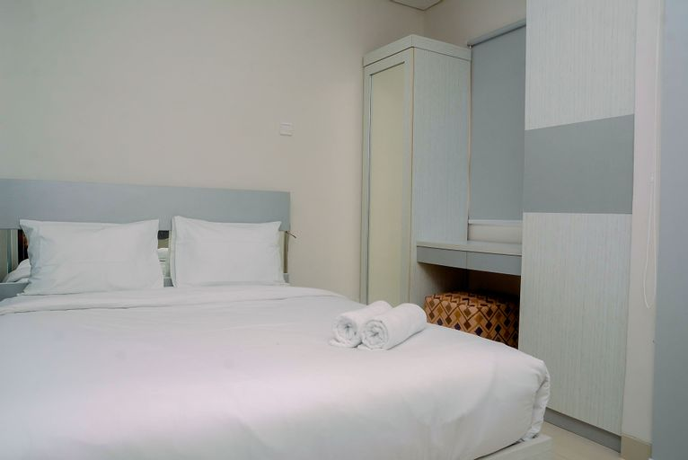 Cozy Living and Modern 1BR Apartment at Atlanta Residences By Travelio, Depok
