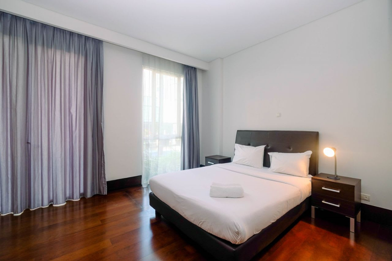 Big and Cozy 3BR Pearl Garden Apartment By Travelio, Jakarta Selatan