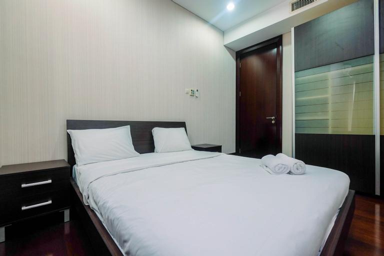 Great Location 2BR Pearl Garden Apartment By Travelio, Jakarta Selatan