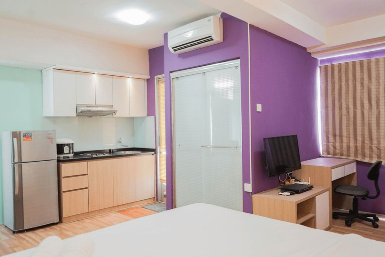 Spacious Studio Apartment at Green Bay Pluit By Travelio, North Jakarta
