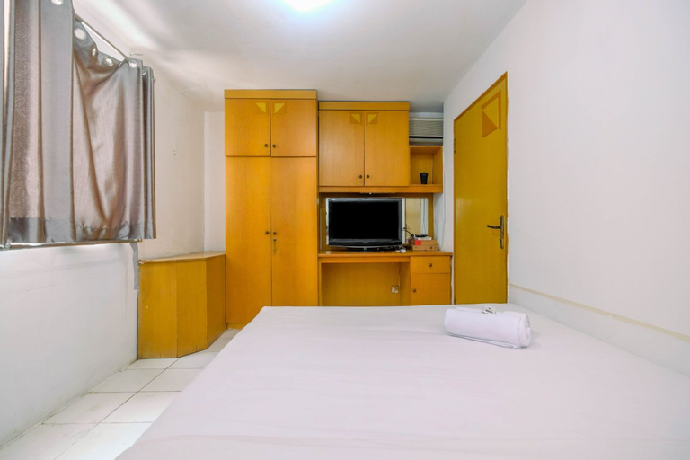 New Furnished 1BR Rajawali Apartment By Travelio, Central Jakarta