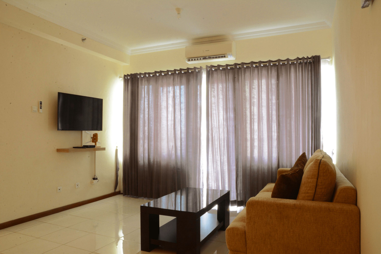 Luxury Design 3BR Grand Palace Kemayoran Apartment With Private Bathtub By Travelio, Central Jakarta