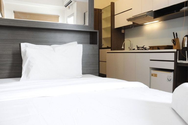 Chic Studio Apartment at Easton Park Residence Jatinangor By Travelio, Sumedang
