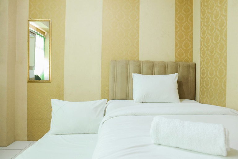 Simple 2BR Apartment at Kalibata City Residence By Travelio, South Jakarta