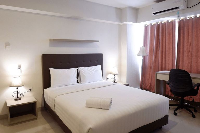 Best Price Studio Apartment The H Residence near MT Haryono By Travelio, East Jakarta