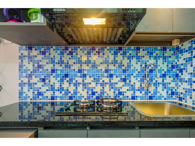 Brand New with City View Studio Saladin Mansion Apartment By Travelio, Depok