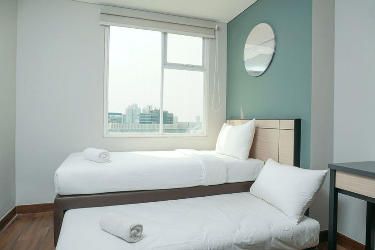 Comfy 4 Pax 2BR Apartment at Gallery West Residence By Travelio, Jakarta Barat
