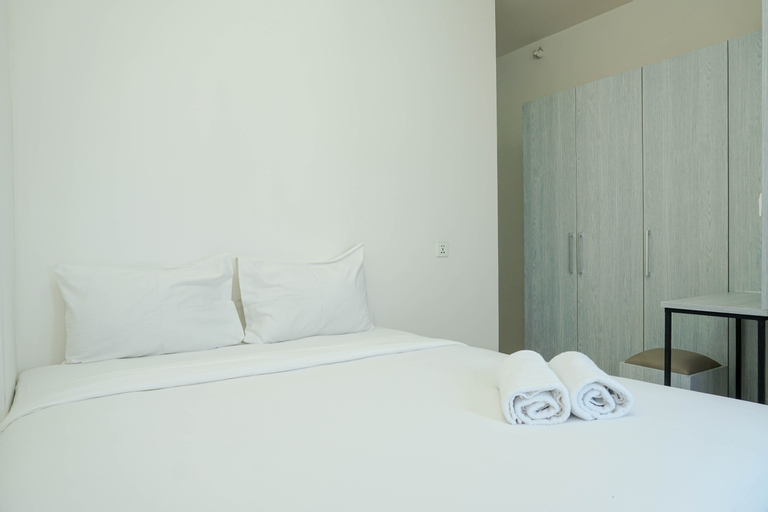 Cozy with River View @ 2BR Teluk Intan Apartment By Travelio, North Jakarta
