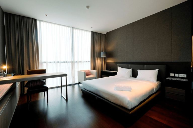 Classy 2BR Casa Domaine Apartment with Maid Room By Travelio, Central Jakarta