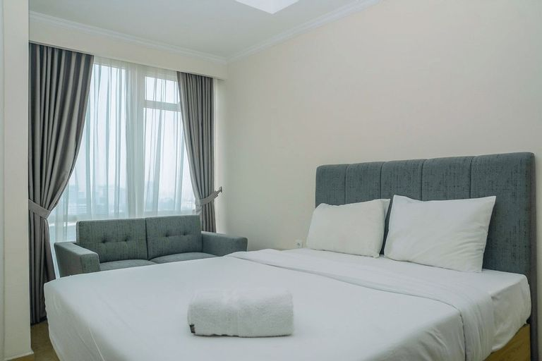 Modern and Cozy Studio Menteng Park Apartment By Travelio, Jakarta Pusat