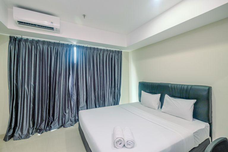 Cozy with Minimalist Style Studio Apartment Nine Residence By Travelio, South Jakarta