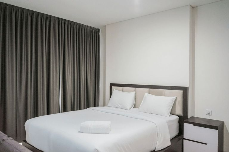 Compact and Cozy Studio at Brooklyn Alam Sutera Apartment By Travelio, Tangerang Selatan