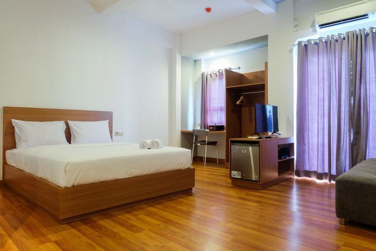 Studio at Grand Center Point Apartment By Travelio, Bekasi